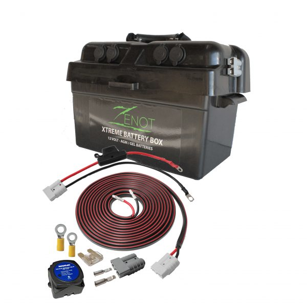 ZENOT BATTERY BOX WITH DUAL BATTERY WIRING